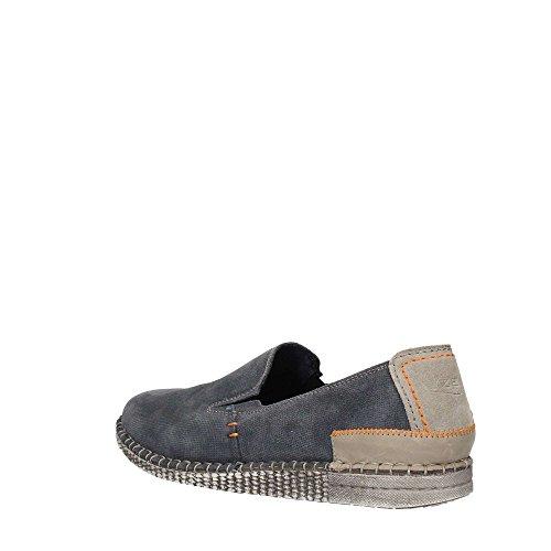 ZEN Age 476854 U Loafer Flat Man Blue XrhNwRF