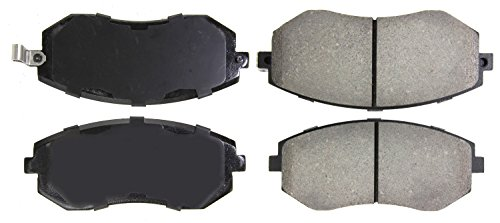 StopTech 309.09290 Street Performance Front Brake Pad (Street Brakes Performance)