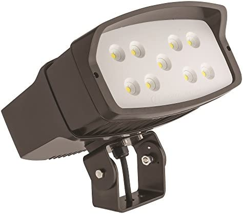 Lithonia Lighting OFL2 LED P2 50K MVOLT YK DDBXD M2 5000K Color Temperature LED Size 2 Floodlight with P2 Performance Package – Yoke Mount
