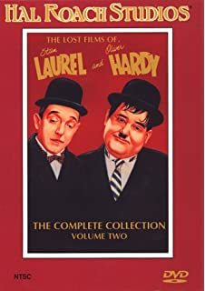 Classic comedy duo Laurel and Hardy image trolley token key-ring,metal bag tag