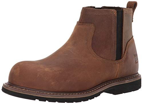 - Timberland PRO Men's Millworks Chelsea Composite Safety Toe Industrial Boot, Brown Gaucho, 12 M US