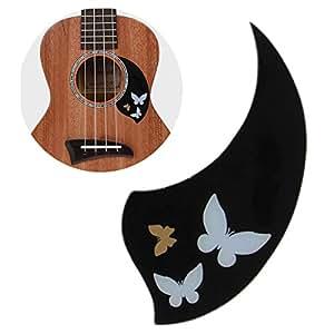 ukulele pickguard 26 inch tenor hawaii guitar scratch plate adhesive soft self stick. Black Bedroom Furniture Sets. Home Design Ideas