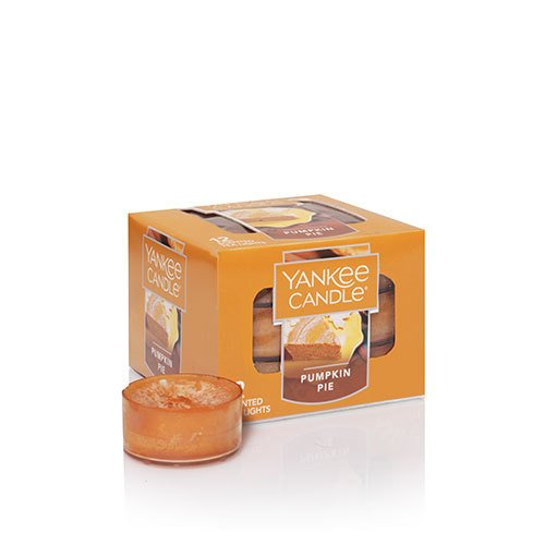 Yankee Candle Pumpkin Pie Tea Light Candles, Food & Spice Scent