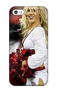 Excellent Design Cheerleader Nfl Football Ballpaper Case Cover For Iphone 5/5s