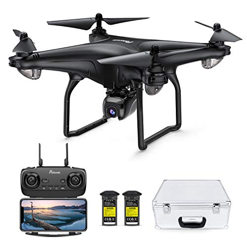 Potensic D58 Drone with 4K Camera for Adults, 5G WiFi HD Live Video, GPS Auto Return, RC Quadcopter for Adult, Portable…