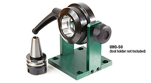 Amana Tool UHO-63 Universal Adjustable Auto-Locking Stand for HSK63F Tool Holders with 63mm Flange