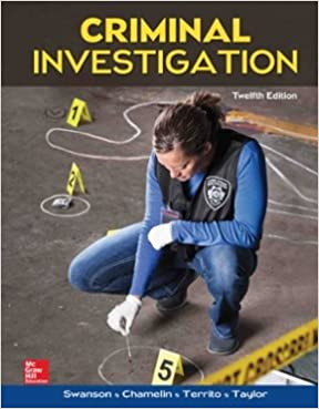 Amazon criminal investigation 9780078026577 charles r criminal investigation 12th edition fandeluxe Images