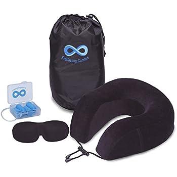 Amazon Com Cabeau Evolution Memory Foam Travel Pillow