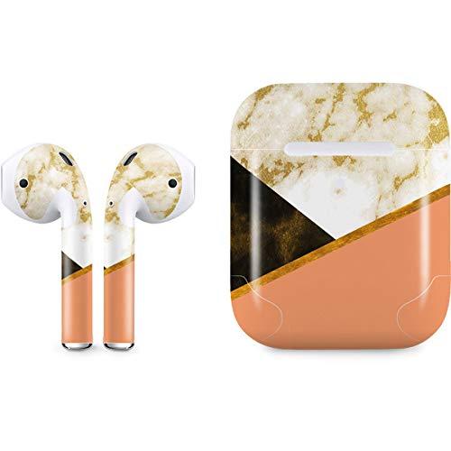 6f94ddc4507 Amazon.com: Skinit Colored Marble Apple AirPods 2 Skin - Original ...