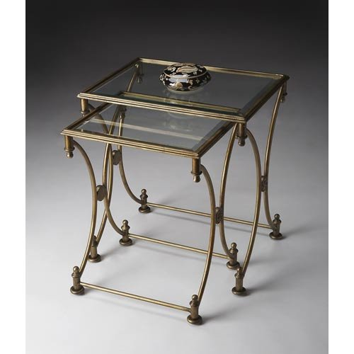 Butler Specialty Company Park Antique Gold Nesting (Butler Specialty Metalworks Metal)