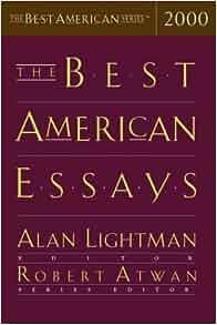Robert atwan 10 best essays