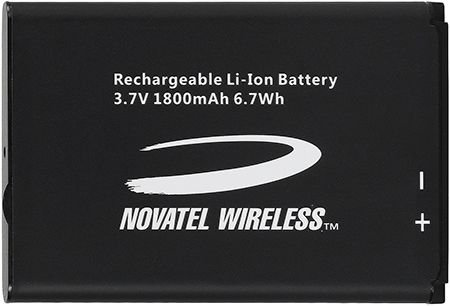 Verizon Jet Pack Mobile - Novatel Wireless MiFi 5510L Battery for Verizon Jetpack 4G LTE - Original OEM 40115126-001 - Non-Retail Packaging - Black