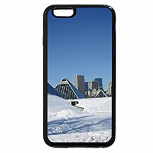 iPhone 6S / iPhone 6 Case (Black) Downtown Edmonton on March 27