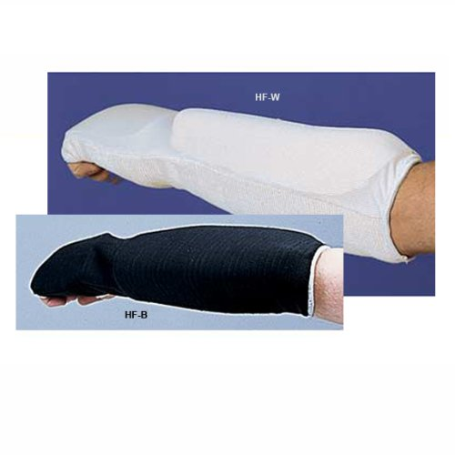White Large Football Hand & Forearm Protection Gard (Markwort Arm Pads)