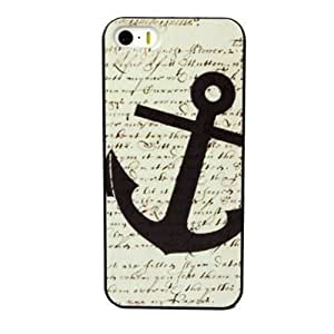 Gotida New Hot Selling Fashional Individualized Hard Back Case for Iphone 4s(Anchors Pattern)