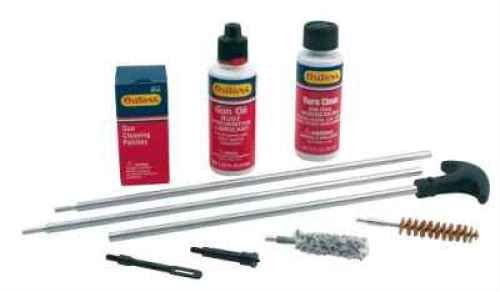 Outers .40-.45 Caliber/10mm Aluminum Rod Pistol Cleaning Kit