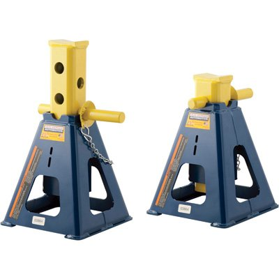 Hein-Werner Automotive Jack Stands - Pair, 25-Ton Capacity, Model# HW93526