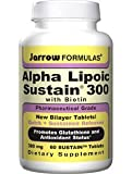 Jarrow Formulas Alpha Lipoic Sustain , 120 Tablets, (Pack of 2)