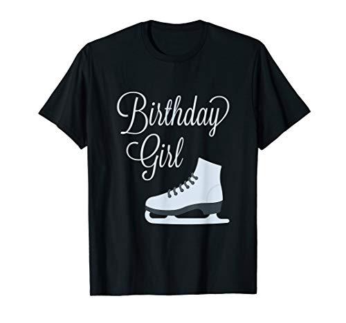 Birthday Girl Ice Skating Party t-shirt