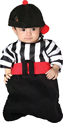 Morris Costumes Bunting foul Striped flannel referee style costume Bunting