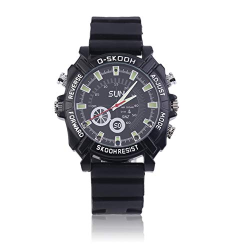 Hd Waterproof Spy Watch Camera Camcorder 8Gb - 5