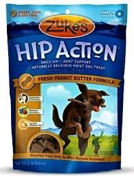 Pet Zuke's Hip Action Natural Dog Treats, Eases arthritis pain, Size: 6 Ounce Color: Peanut Butter Supply Store/Shop Review