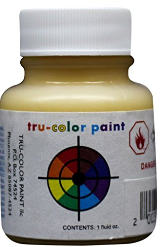 Tru-color Paint Missouri Pacific Eagle Yellow 1 oz Airbrush Lacquer #TCP-123