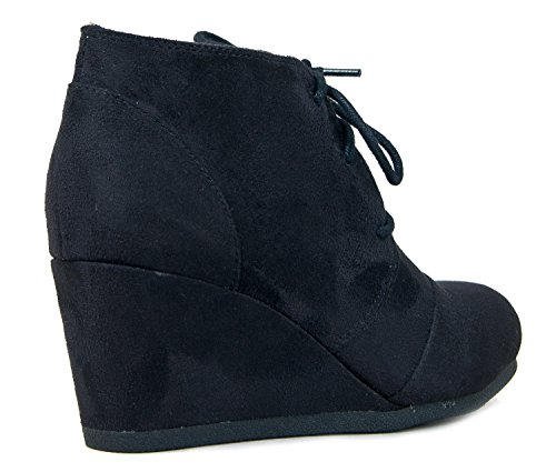 Womens Black Rex Classified Imsu Wedges City 4Eqfxw6Cw