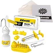 EZ Cycling Mountain Bike Mineral Oil Hydraulic Disc Brake Bleed Kit MTB Repair Tools for Shimano MAGURA TEKTRO