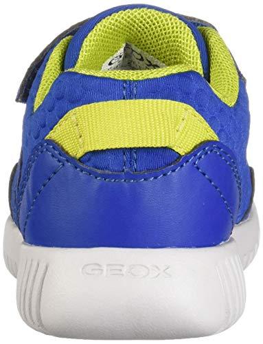 C4344 B royal lime Bebé B Niños Waviness Azul para Geox Zapatillas vdBqfwv