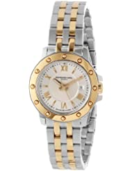 Raymond Weil Womens 5399-STP-00657 Tango Stainless Steel and 18k Gold Watch