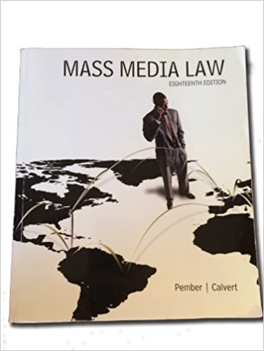 Book Mass Media Law