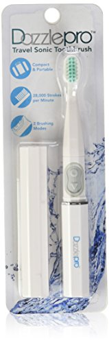 Dazzlepro Travel Sonic Toothbrush, White