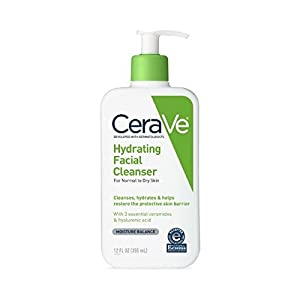 CeraVe Hydrating Facial Cleanser 12 oz (Pack of 2)