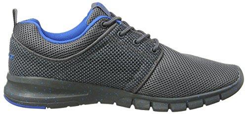 Gola Angelo, Zapatillas Deportivas para Interior, Hombre Gris (Grey/blue)
