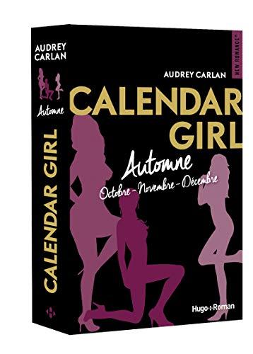 Calendar Girl - Automne Octobre-Novembre-Décembre