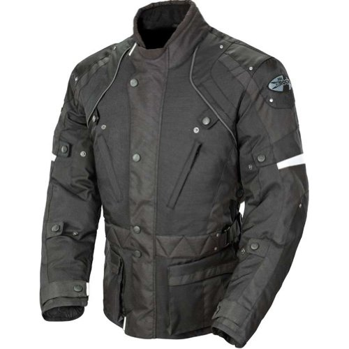 Joe Rocket Ballistic Revolution Men's Textile Sports Bike Motorcycle Jacket - Black/Black / 2X-Large by Joe Rocket (Image #2)