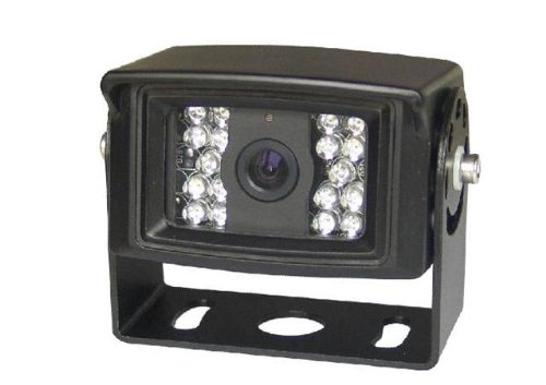 4 Ir Led (CCD Surface Mount Rear View Backup Camera with 120 DEGREE WIDE ANGLE View, NIGHT VISION 18 IR LEDS, Reverse/Forward Image, waterproof 4-pin Connector. by YanTech USA)