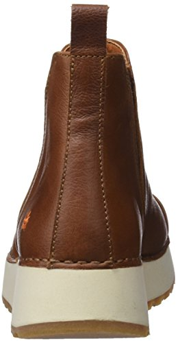 Memphis Femme Marron Art Cuir Bottines FqBCw
