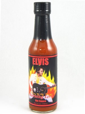 Elvis' Burning Love® Hot Sauce, Bottle, 5 fl oz (Burning Love Hot Sauce)