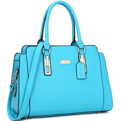 - Dasein Women Satchel Handbags Purse Shoulder Bag Work Bag With Removable Shoulder Strap