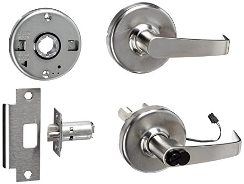 Commercial Lever Duty 626 Heavy - Corbin Russwin CL33905 NZD 626 CL6 24AD Electrified Heavy-Duty Cylindrical Lever Lockset, Fail Secure with Large Format Interchangeable Core Prep, 24 AC/DC