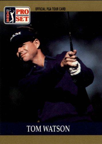 1990 Pro Set PGA Golf #4 Tom Watson (Golf Pga Card)