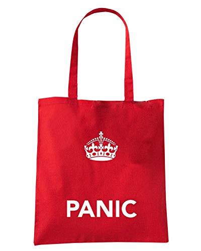 PANIC AND Shopper Speed CALM KEEP Rossa TKC4013 Borsa Shirt 7CqW1np