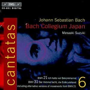 Cantatas Bach Suzuki