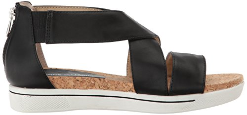 Adrienne Vittadini Calzature Donna Claud Sandal Smooth Black