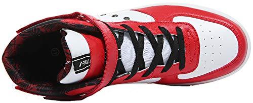 Hi 1 Adulti da Top VITIKE Sneaker rosso Unisex Scarpe per Scarpe Teenager Basket Uomo qfqI7w