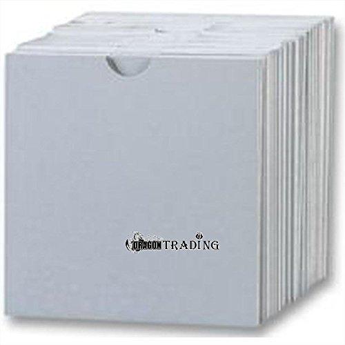 Four Square Media 350 CD fundas de cart/ón//tipo cartera de color blanco 350 unidades