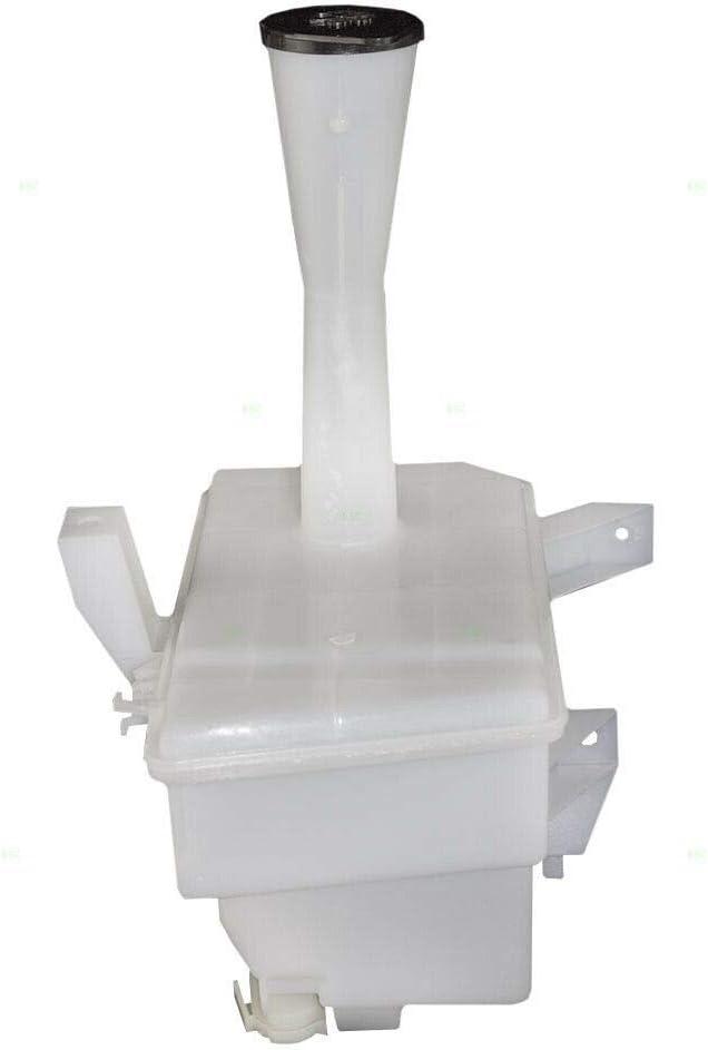 New Windshield Washer Fluid Reservoir Bottle Tank /& Cap for 00-06 Nissan Sentra