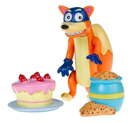 Dora the Explorer: Figures for Dora's Talking Doll House: Swiper with Cookie Jar and Cake